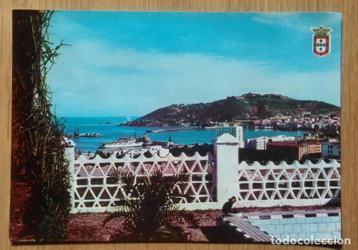 CEUTA - LLEGADA DEL TRANSBORDADOR (Postales - España - Ceuta Moderna (desde 1940))