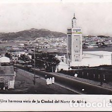 Postales: POSTAL CEUTA UNA HERMOSA VISTA DE LA CIUDAD DEL NORTE DE AFRICA . Lote 91835280