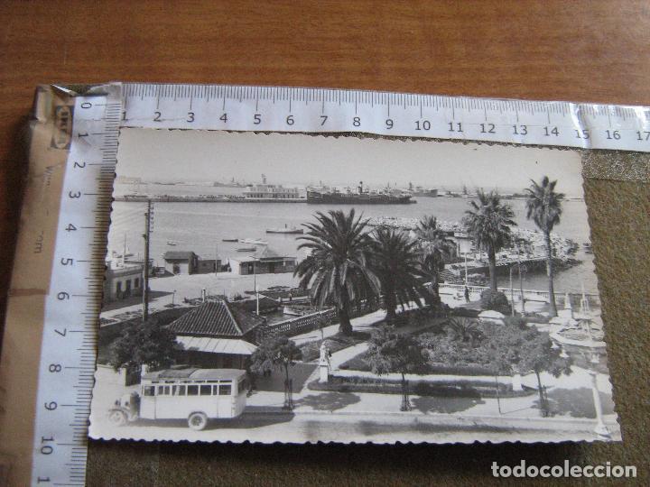 CEUTA - UNA VISTA DE LA CIUDAD - EL PUERTO - FOTO RUBIO (Postales - España - Ceuta Moderna (desde 1940))