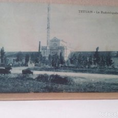 Postales: TETUAN. LA RADIOTELEGRAFIA. FOTO RUBIO. 1920.. Lote 93369440