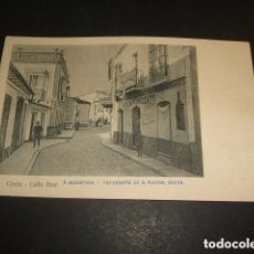 Postales: CEUTA CALLE REAL. Lote 93870040