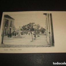 Postales: CEUTA PLAZA DE J. RUIZ. Lote 93870190