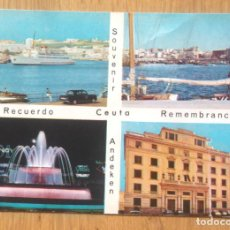 Postales: CEUTA - VARIAS VISTAS. Lote 96482055