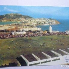 Postales: POSTAL CEUTA -FUTBOL CAMPO ALFONSO MORUBE. Lote 96927775