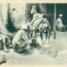 Postales: TETUAN. HERRADOR MORO. HACIA 1910.. Lote 97387483