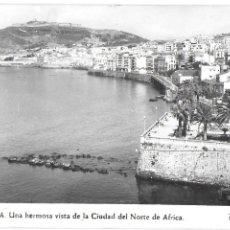 Postales: P-7435. POSTAL CEUTA. UNA HERMOSA VISTA DE LA CIUDAD DEL NORTE DE AFRICA.. Lote 97685275