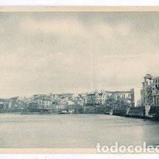 Postales: CEUTA VISTA PARCIAL DESDE EL MUELLE DE LA REPUBLICA. FOTOTIPIA HAUSER Y MENET. SIN CIRCULAR. Lote 98579115