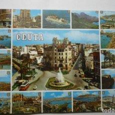 Postales: POSTAL VARIAS VISTAS DE CEUTA. Lote 103187575