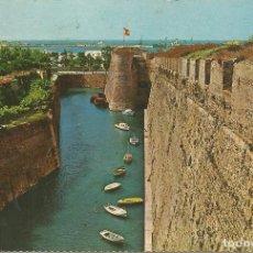 Postales: CEUTA, MURALLAS PORTUGUESAS, FOSO DE S. FELIPE - ED. FARDI - EDITADA EN 1969 - S/C. Lote 103288171