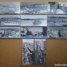 Postales: CEUTA POSTAL FOTOGRÁFICA LOTE 11 POSTALES FOTOGRÁFIA GARCÍA CORTÉS AÑO 1961. Lote 103299435