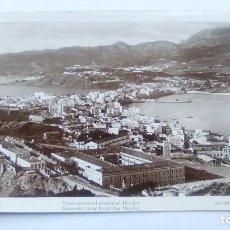 Postales: POSTAL DE CEUTA. 11. VISTA GENERAL DESDE EL HACHO. CUILERA. Lote 103594179