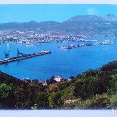 Postales: POSTAL DE CEUTA. 16. EL PUERTO, VISTA DESDE EL MONTE HACHO. Lote 103594859