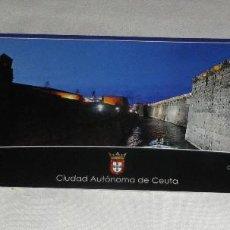 Postales: POSTAL CEUTA CONJUNTO MONUMENTAL DE LAS MURALLAS REALES. Lote 103702591