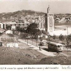 Postales: CEUTA 13 ENTRE LAS AGUAS DEL MAR Y EL ESTRECHO RUBIO. Lote 103951019