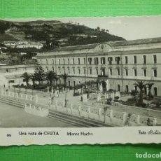 Postales: POSTAL - ESPAÑA - CEUTA - 99.- UNA VISTA DE CEUTA - MONTE HACHO - FOTO RUBIO - ESCRITA. Lote 104049839