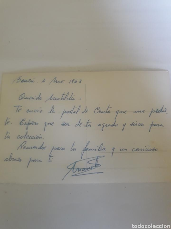 Postales: Postal Ceuta año 1963 - Foto 2 - 105727278
