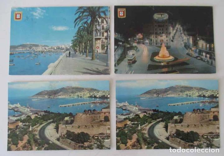 CUATRO POSTALES DE CEUTA (Postales - España - Ceuta Moderna (desde 1940))