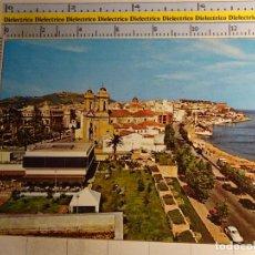 Cartes Postales: POSTAL DE CEUTA. AÑO 1969. CALLE INDEPENDENCIA Y PLAYA DE LA RIBERA. 990. Lote 107613879