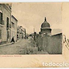 Postales: CEUTA COMANDANCIA GENERAL ED. VIUDA DE J. MARTINEZ. REVERSO SIN DIVIDIR. SIN CIRCULAR. Lote 108696715