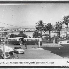 Cartoline: CEUTA .- HERMOSA VISTA DE LA CIUDAD DEL NORTE DE AFRICA .- FOTO RUBIO . Lote 109371611