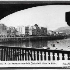 Postales: CEUTA .- VISTA DE LA CIUDAD DEL NORTE DE AFRICA .- FOTO RUBIO . Lote 109388239