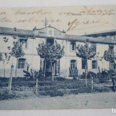 Postales: POSTAL ANTIGUA, CEUTA CUARTEL DE LA LEGION, ESCRITA A MEDICO FORENSE EN HELLIN. Lote 110153087