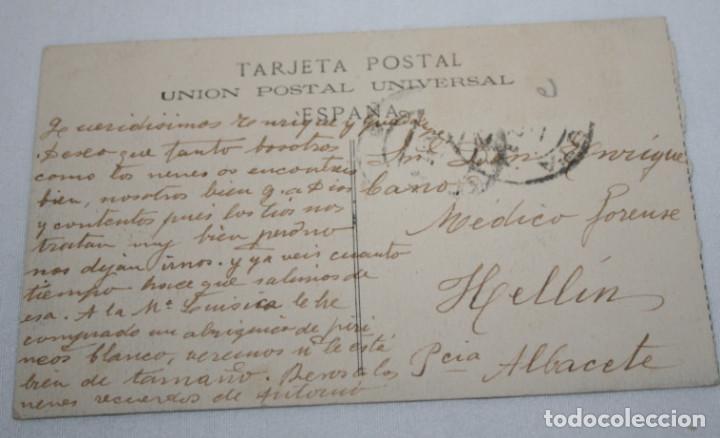 Postales: POSTAL ANTIGUA, CEUTA CUARTEL DE LA LEGION, ESCRITA A MEDICO FORENSE EN HELLIN - Foto 2 - 110153087