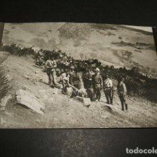 Postales: CEUTA GUERRA DEL RIF POSTAL FOTOGRAFICA REGULARES CON CARNERO. Lote 110278895