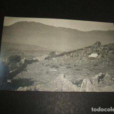 Postales: CEUTA GUERRA DEL RIF POSTAL FOTOGRAFICA CEMENTERIO ARABE ANGEL RUBIO FOTOGRAFO. Lote 110279691