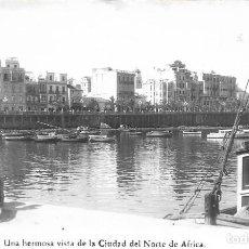 Postales: == AF430 - POSTAL - CEUTA - VISTA DESDE LA CIUDAD DEL NORTE DE AFRICA - FOTO RUBIO - SIN CIRCULAR. Lote 110511767