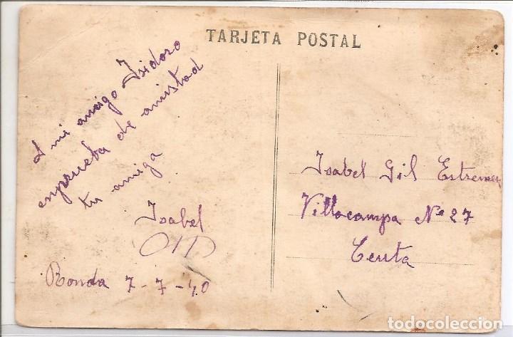 Postales: tarjeta postal ceuta (fechada 7-7-40) - Foto 2 - 114966975
