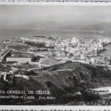 Postales: POSTAL VISTA GENERAL DE CEUTA. Lote 118874936