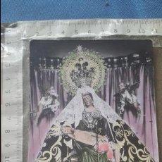 Postales: CEUTA - POSTAL COLOREADA DE LA VIRGEN DE AFRICA - FOTO RUBIO. Lote 120551879