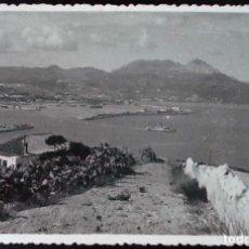 Postales: UNA VISTA DEL PUERTO Y LLEGADA DEL VAPOR CORREO. 1951.. Lote 121596699