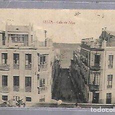 Postales: TARJETA POSTAL DE CEUTA - CALLE DE ALFAU. EDICION ANTONIO BUTRON. Lote 121833603