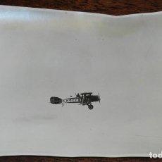 Postales: FOTOGRAFIA DE AVION BRISTOL F28 FIGHTER M- M REF, GUERRA DEL RIF, MARRUECOS AÑO 1925, MIDE 17 X 11. Lote 122519371