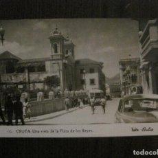 Postales: CEUTA - UNA VISTA DE LA PLAZA DE LOS REYES - FOTO RUBIO - VER REVERSO - (53.059) . Lote 123757279