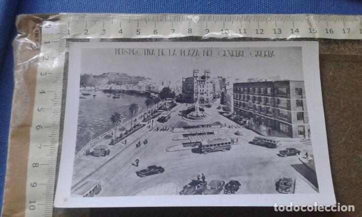 CEUTA, PERSPECTIVA DE LA PLAZA DEL GENERAL GALERA, ESCRITA, NO CONSTA MARCA EDITORIAL. (Postales - España - Ceuta Moderna (desde 1940))