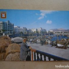Postales: POSTAL CEUTA, VISTA PARCIAL DESDE EL MUELLE DE PESCADORES. Lote 126650279