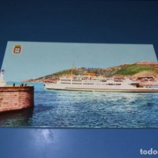Postales: POSTAL SIN CIRCULAR - CEUTA - SALIDA DEL TRANSBORDADOR - EDITA R. Lote 127016539