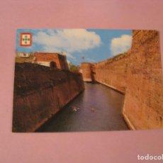 Postales: POSTAL DE CEUTA. FOSO. MURALLAS PORTUGUESAS. ED. GARCIA GARRABELLA.. Lote 127163819