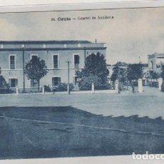 Postales: 30 CEUTA CUARTEL DE ARTILLERIA. NO FIGURA EDITOR. SIN CIRCULAR.. Lote 130174567
