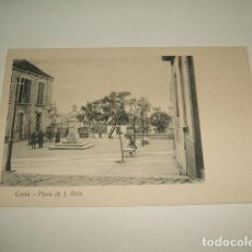 Postales: CEUTA PLAZA DE J. RUIZ. Lote 131065948