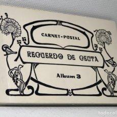 Postales: CARNET- POSTAL ·· RECUERDO DE CEUTA ·· ALBUM 3 ··· REPRODUCCIONES ANTIGUAS ··. Lote 44947011