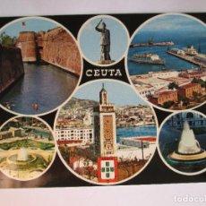 Postales: POSTAL CEUTA - BELLEZAS DE LA CIUDAD - 1971 - GARCIA GARRABELLA 59 - SIN CIRCULAR. Lote 132209522