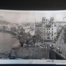 Postales: ANTIGUA FOTO POSTAL DE CEUTA VISTA DE LA HERMOSA CIUDAD. Lote 132917282