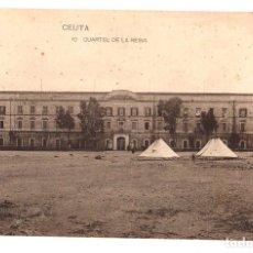 Postales: TARJETA POSTAL CEUTA. CUARTEL DE LA REINA. Nº 10. HAUSER Y MENET. Lote 134291167