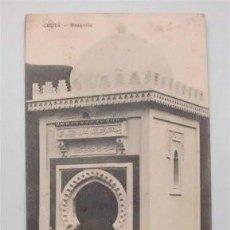 Postales: TARJETA POSTAL CIRCULADA DE CEUTA (1919) - SELLO ALFONSO XIII ZONA DE PROTECTORADO ESPAÑOL MARRUECOS. Lote 135366306