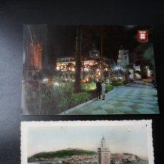 Postales: 2 POSTALES DE CEUTA 1950/60. Lote 136472558