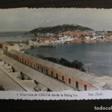 Postales: CEUTA - VISTA PARCIAL - 4 - FOT. RUBIO - (53.496). Lote 136850814